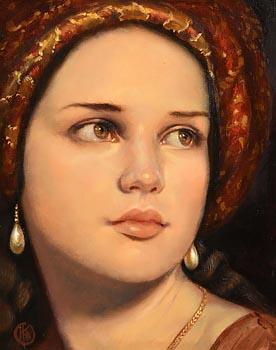 Ken Hamilton, The Hope of Esther at Morgan O'Driscoll Art Auctions