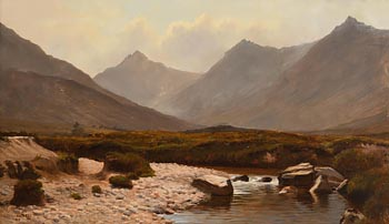 West of Ireland Landscape (1885) at Morgan O'Driscoll Art Auctions
