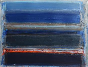 Ian Humphreys, Rhythm and Blue (2021) at Morgan O'Driscoll Art Auctions