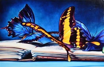 Kate Brinkworth, To a Butterfly, Wordsworth (2013) at Morgan O'Driscoll Art Auctions