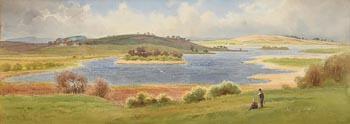 Joseph William Carey, Lake at Dromara (1929) at Morgan O'Driscoll Art Auctions