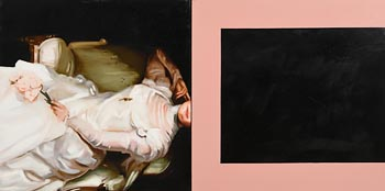 Marie Theresa Keown, White Dress (2009) at Morgan O'Driscoll Art Auctions
