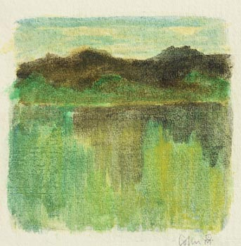 Colin Middleton, Evening Reflections at Morgan O'Driscoll Art Auctions