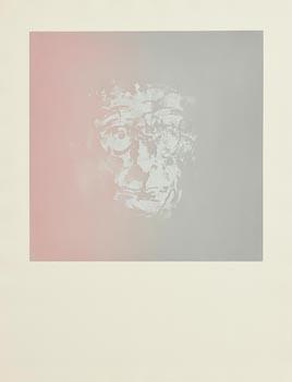 Louis Le Brocquy, Study towards an image of Samuel Beckett at Morgan O'Driscoll Art Auctions