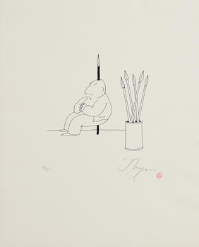 Tomi Ungerer, Untitled at Morgan O'Driscoll Art Auctions