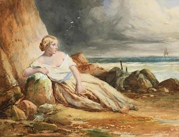 Daniel Maclise, The Storm Maiden at Morgan O'Driscoll Art Auctions