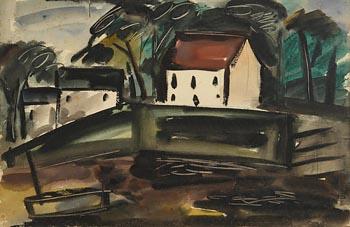 Norah Allison McGuinness, Sussex Landscape (c.1934) at Morgan O'Driscoll Art Auctions