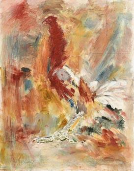 Cockerel at Morgan O'Driscoll Art Auctions