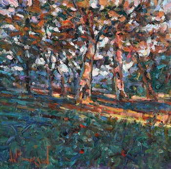 Arthur K. Maderson, Nearly Sunset, Killderriheen, Capoquin at Morgan O'Driscoll Art Auctions