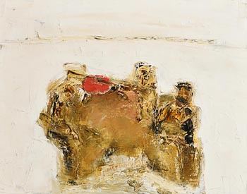 John Brian Vallely, The Red Fiddler (1974) at Morgan O'Driscoll Art Auctions