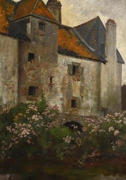 Helen Mabel Trevor, A Breton Chateau (1882) at Morgan O'Driscoll Art Auctions