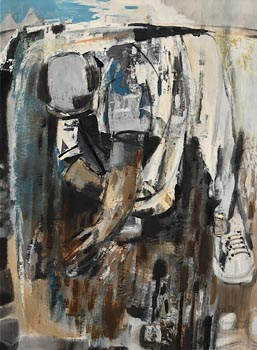 George Campbell, The Sower (1966) at Morgan O'Driscoll Art Auctions