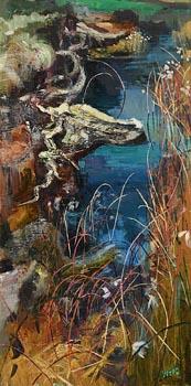 Kenneth Webb, Spring Bog at Morgan O'Driscoll Art Auctions