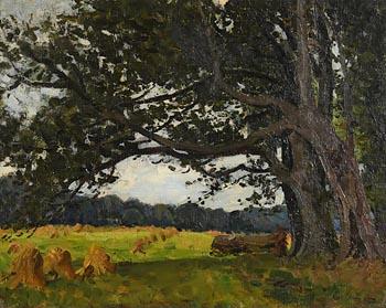 Hans Iten, Harvest Time at Morgan O'Driscoll Art Auctions