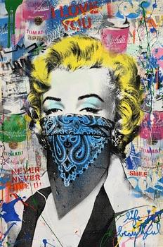 Mr.  Brainwash (b.1966), Marilyn Monroe (2019) at Morgan O'Driscoll Art Auctions