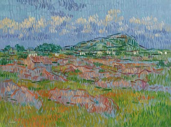 Desmond Carrick, West of Ireland Landscape at Morgan O'Driscoll Art Auctions