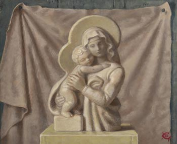 Lady Beatrice Glenavy, Madonna and Child at Morgan O'Driscoll Art Auctions