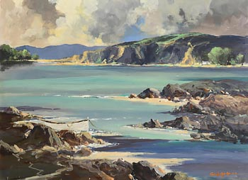 George K. Gillespie, West of Ireland Coastline at Morgan O'Driscoll Art Auctions