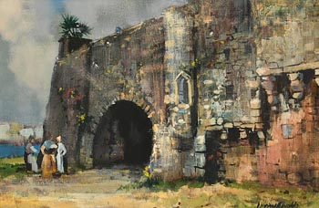 Kenneth Webb, Spanish Arch, Galway at Morgan O'Driscoll Art Auctions