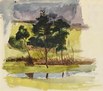 John Butler Yeats, Landscape Co. Sligo at Morgan O'Driscoll Art Auctions