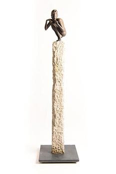 Rowan Gillespie, The Guardian (Evolution to Birdy) (1996) at Morgan O'Driscoll Art Auctions
