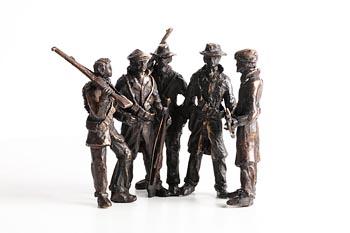 Jarlath Daly, Men of the South at Morgan O'Driscoll Art Auctions