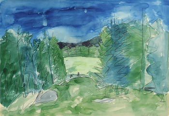 Sean McSweeney, Forest Clearing at Morgan O'Driscoll Art Auctions