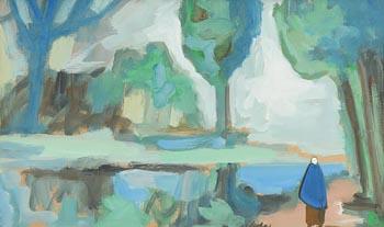 Markey Robinson, St Stephens Green, Dublin at Morgan O'Driscoll Art Auctions