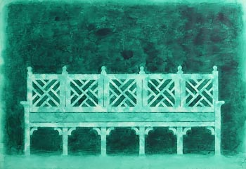 Neil Shawcross, The Garden Seat at Morgan O'Driscoll Art Auctions