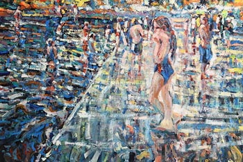 Arthur K. Maderson, Lismore River Pool at Morgan O'Driscoll Art Auctions