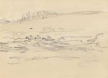 Jack Butler Yeats, The Cross Country at Morgan O'Driscoll Art Auctions