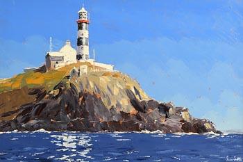 Ivan Sutton, Old Head Lighthouse, Kinsale, Co. Cork at Morgan O'Driscoll Art Auctions