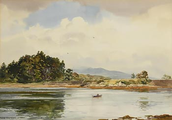 Frank Egginton, Lough Leane, Killarney at Morgan O'Driscoll Art Auctions
