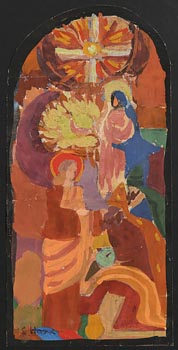 Evie Hone, Study for a Stained Glass Window at Morgan O'Driscoll Art Auctions