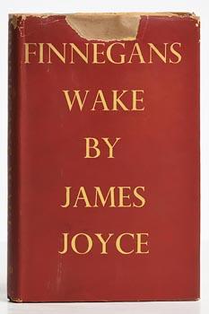 James Joyce, Finnegans Wake at Morgan O'Driscoll Art Auctions