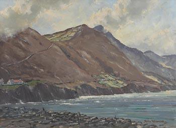 Sean O'Connor, Coast Road at Morgan O'Driscoll Art Auctions