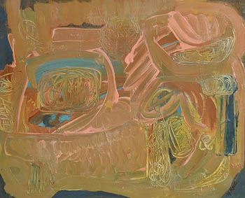 Noreen Rice, Spring Field at Morgan O'Driscoll Art Auctions