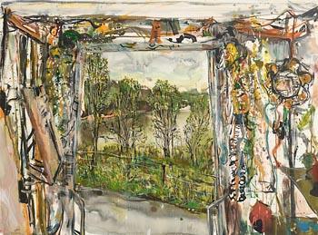 Nick Miller, Lough Key Truck View (2005) at Morgan O'Driscoll Art Auctions