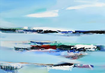 Majella O'Neill Collins, Mystic Sea Sherkin Island (2020) at Morgan O'Driscoll Art Auctions
