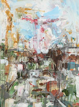 Emma Connolly, From Queen St. Towards Fountain St. Belfast, Number 3 (2006) at Morgan O'Driscoll Art Auctions