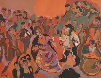 Emmanuel Man�-Katz, Jewish Wedding at Morgan O'Driscoll Art Auctions