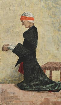 Patrick Pye, Bean ag Paidreoireacht (Woman Praying) at Morgan O'Driscoll Art Auctions