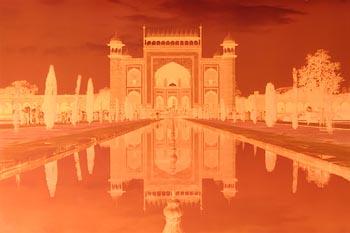 Akim Monet, Taj Mahal (1992) at Morgan O'Driscoll Art Auctions