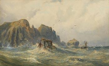 John Faulkner, Malin Head, Coast of Donegal (1876) at Morgan O'Driscoll Art Auctions