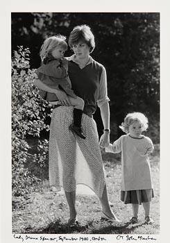 John Minihan, Lady Diana Spencer (1980) at Morgan O'Driscoll Art Auctions