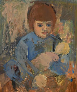 Tom Carr, The New Doll at Morgan O'Driscoll Art Auctions