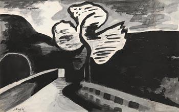 Doreen Vanston, Wicklow Landscape (1970) at Morgan O'Driscoll Art Auctions