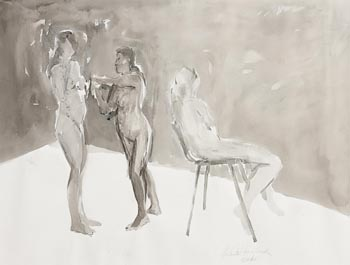 Charles Harper, Female Figures (2008) at Morgan O'Driscoll Art Auctions