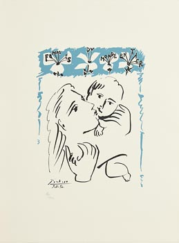 Pablo Picasso, Mother and Child at Morgan O'Driscoll Art Auctions