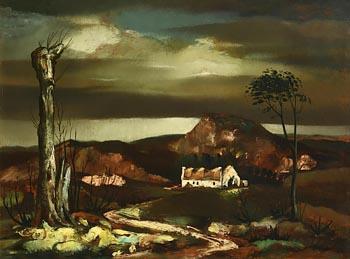 Daniel O'Neill, Landscape, Co. Down (1955) at Morgan O'Driscoll Art Auctions